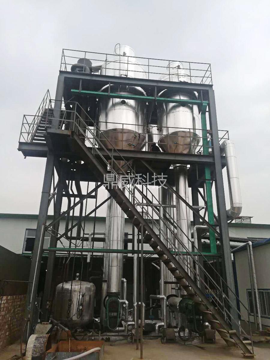 双效硫酸铵蒸发结晶设备-降膜蒸发器