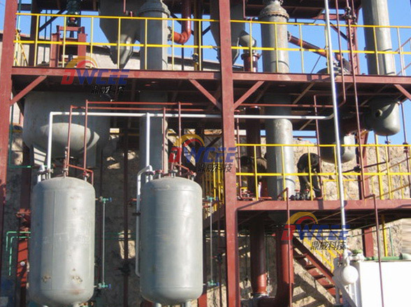 煤化工盐硝分离的工艺选择--降膜蒸发器